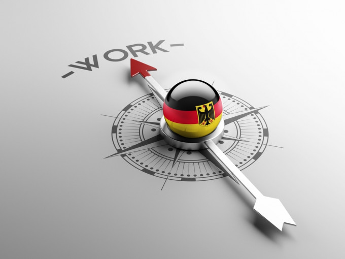 Germany High Resolution Work Concept